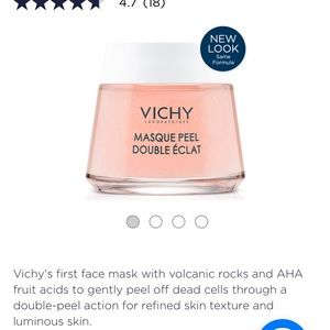 Vichy double glow exfoliating face mask